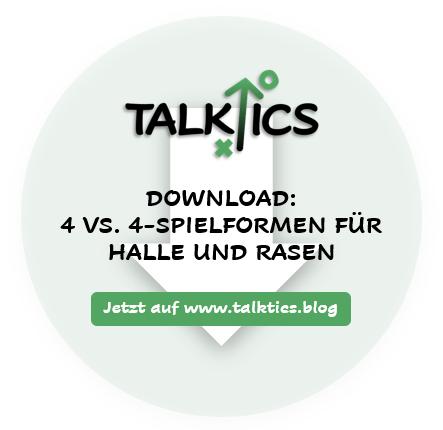 4 vs. 4-Spielformen für Halle und Rasen(Download)