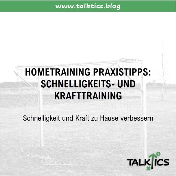 Hometraining Praxistipps: Schnelligkeits- undKraftraining