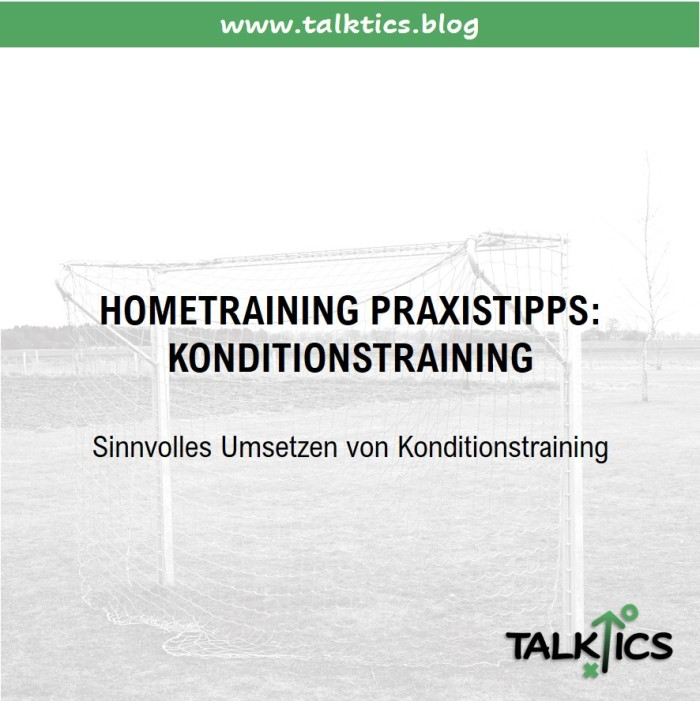 Hometraining – Praxistipps: Konditionstraining