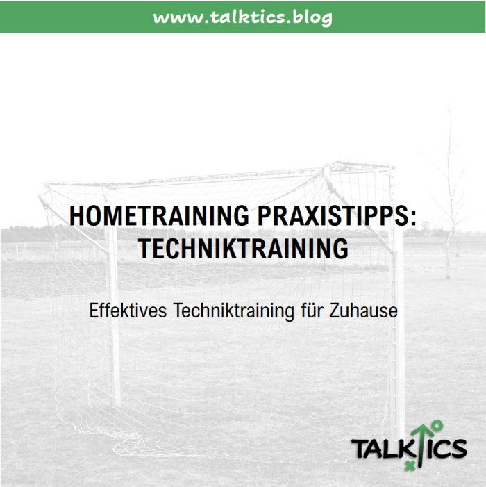 Hometraining Praxistipps: Techniktraining