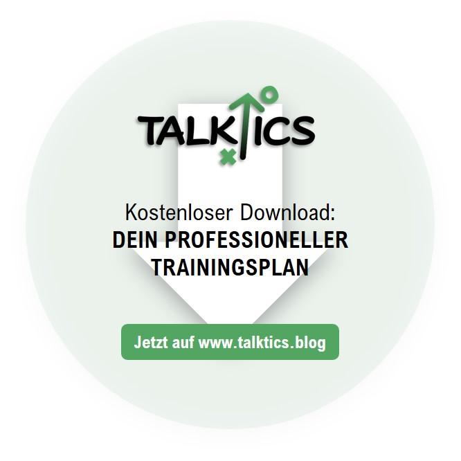Dein professioneller Trainingsplan (KostenloserDownload)